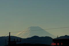 富士山12/7昼。クリックして大きくしてくださいね。r1