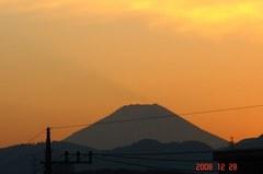 富士山12/28夕