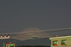 月光富士山09'1/10夜30秒露出。クリックして大きくしてくださいね。r1