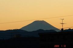 富士山09'1/12夕。クリックして大きくしてくださいね。r1