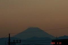 富士山09'2/20(夕)。クリックして大きくしてくださいね。r1
