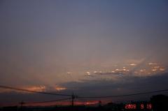 夕景。クリックして大きくしてくださいね。r1