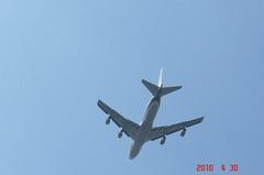 エバーグリーンのB−747離陸。クリックすると大きくなりますR1。