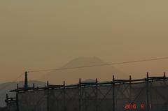 富士山10'9/1。クリックすると大きくなりますR1。