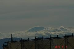 夕景富士山10'9/7。クリックすると大きくなりますR1。