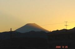 富士山12/26日没クリックして大きくしてくださいね。r1