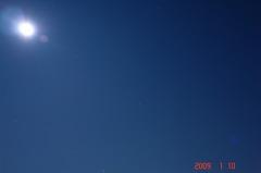 月光とオリオン座。クリックして大きくしてくださいね。r1