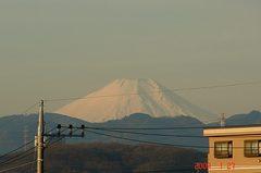 富士山09'1/27。クリックして大きくしてくださいね。r1