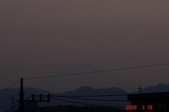 富士山3/18(夕)。クリックして大きくしてくださいね。r1