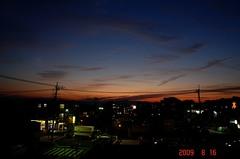夕景街角。クリックして大きくしてくださいね。r1
