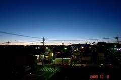 台風一過の夕景。クリックして大きくしてくださいね。r1
