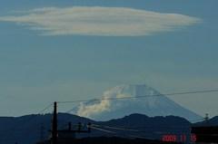 富士山09'11/15。クリックすると大きくなります。R1。クリックすると大きくなります。R1