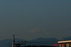 富士山09'11/28。クリックすると大きくなります。R1
