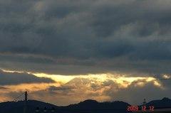 富士山09'12/12。クリックすると大きくなりますR1。