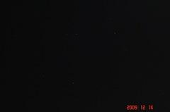東京の星空。クリックすると大きくなりますR1。