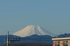 富士山10'1/17。クリックすると大きくなりますR1。