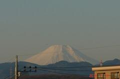 富士山10'1/19。クリックすると大きくなりますR1。