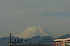 富士山10'1/23。クリックすると大きくなりますR1。
