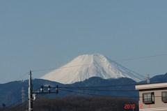 富士山10'2/7。クリックすると大きくなりますR1。
