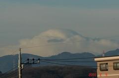 富士山10'2/9。クリックすると大きくなりますR1。