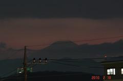 富士山10'2/18。クリックすると大きくなりますR1。