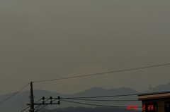 富士山10'2/23。クリックすると大きくなりますR1。