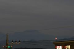 夕景富士山10'2/25。クリックすると大きくなりますR1。