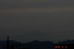 夕景富士山10'5/6。クリックすると大きくなりますR1。