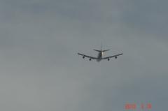 サザンエアーB−747離陸。クリックすると大きくなりますR1。