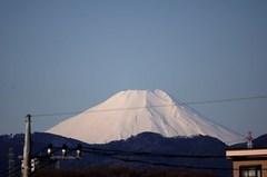富士山12'03/13。α77 SLT-A77V 70-300mm F4.5-5.6 G SSM SAL70300G。クリックすると大きくなります。