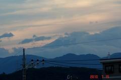富士山10'7/15。クリックすると大きくなりますR1。