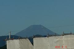 富士山10'8/5。クリックすると大きくなりますR1。