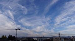 きれいな空でした、スイングパノラマで一枚