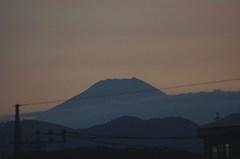 夕景富士山12'08/02