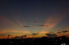 夕景が綺麗