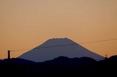 夕景富士山12'02/18